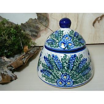 Azúcar / jam jar, único 45 - vajilla de cerámica de Bunzlau - BSN 6617