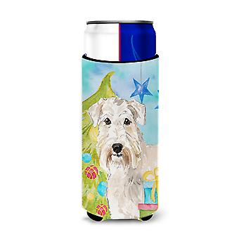 Árbol de Navidad Wheaten Terrier de Hugger de Michelob de Ultra para latas de slim
