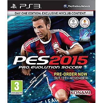 PES 2015 dag 1 Editie (PS3)