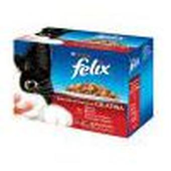 Felix Meat selection (Cats , Cat Food , Wet Food)