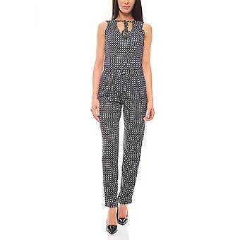 Aniston jumpsuit of sleeveless jumpsuit in the ethno-look black