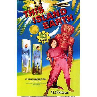 Questo isola terra Movie Poster (11x17)