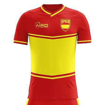 2018-2019 Spain Flag Home Concept Football Shirt