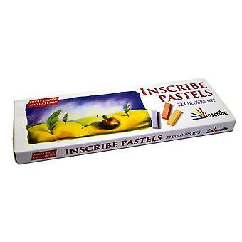 Einschreiben Künstler weichen Pastelltönen-Box-Set [32 Farben]