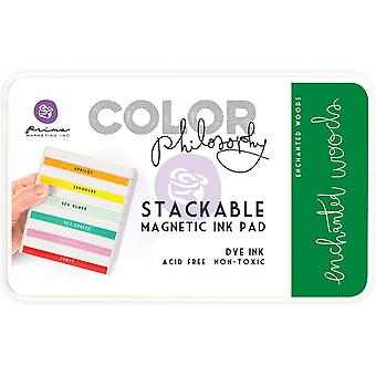 Prima Marketing Color Philosophy Dye Ink Pad-Enchanted Woods