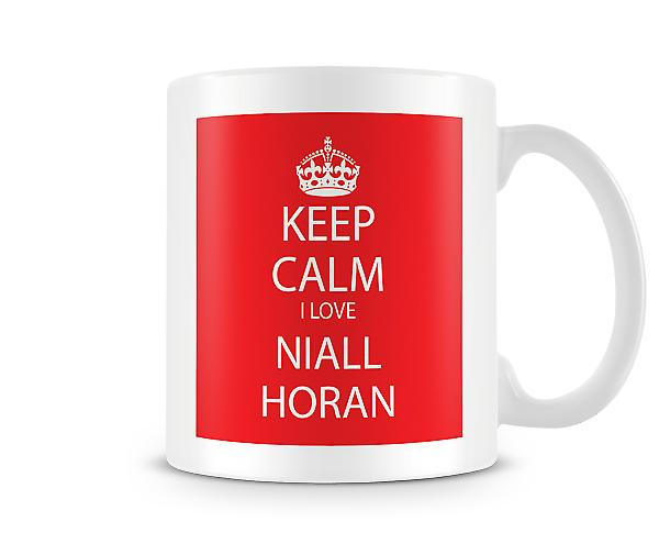Keep Calm I Love Niall Horan Printed Mug