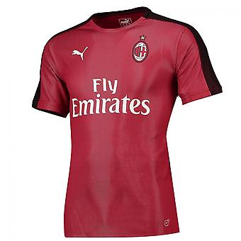 2018-2019 AC Milan Puma Stadium Jersey (Chilli Pepper)