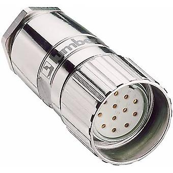 Lumberg Automation 2054 Sensor/actuator connector M23 Connector, straight No. of pins (RJ): 12 1 pc(s)