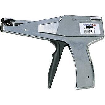 HellermannTyton 110-03500 MK3SP manuelle Kabel Krawatte Tool grau, schwarz
