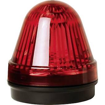 LED ComPro Blitzleuchte BL70 15F 赤ノンストップ光信号、24 Vdc、24 V AC の光のフラッシュ, 緊急