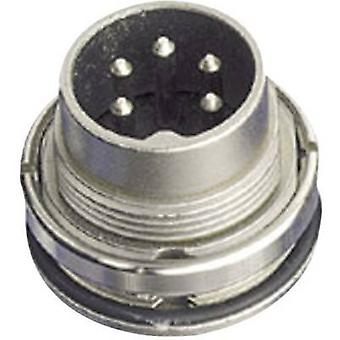 Amphenol C091 31W004 100 2 Circular Connector Nominal current (details): 5 A Number of pins: 4 DIN