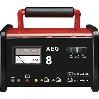 AEG WM 8 2AEG97008 industriële lader 6 V, 12 V 7.2 A 8 A