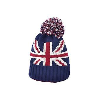 Union Jack Wear Union Jack Pom-Pom Beanie