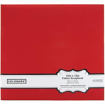 Colorbok Post Bound Fabric Album 12