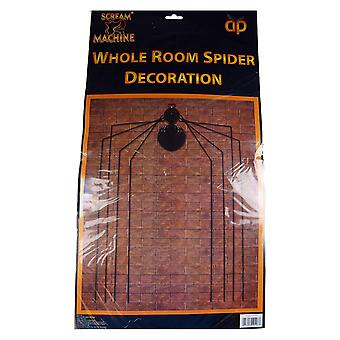 Whole Room Spider Decoration