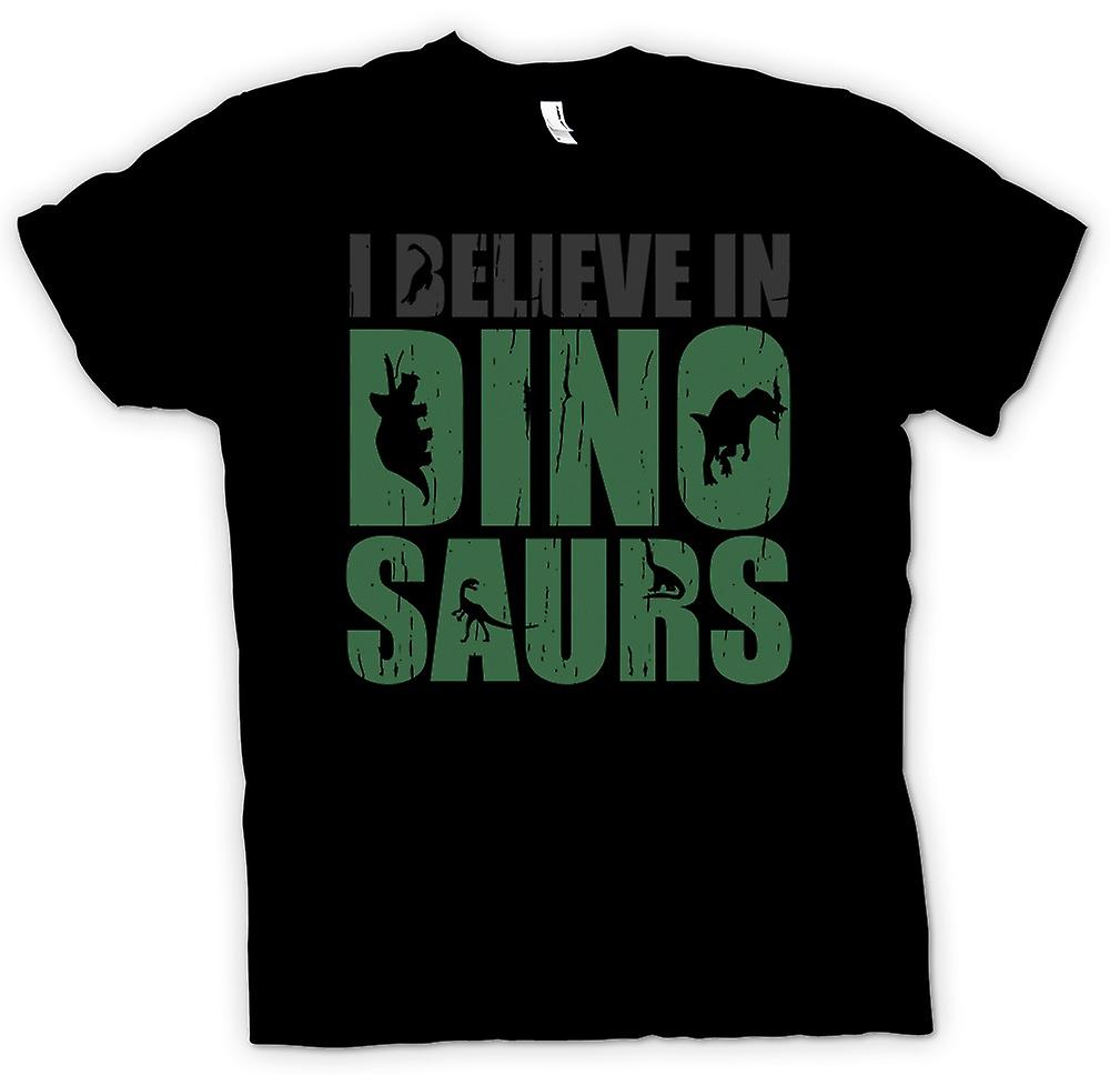 Kids T-shirt - I Believe in Dinosaurs - Cool