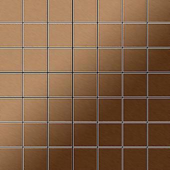 Mosaico de metal sólido Titanio ALLOY Attica-Ti-AB
