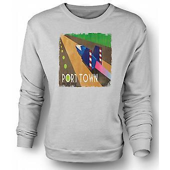 Mens Sweatshirt F Zero Port Town - Grand Prix - Gamer