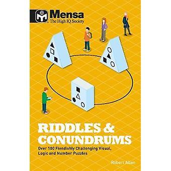 Mensa - charadas e enigmas por Robert Allen - 9781780979403 livro