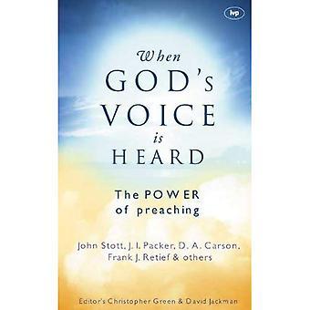 När Guds röst hörs: The Power av predikan