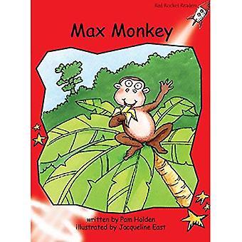 Singe de Max: Niveau 1: au début (Red Rocket lecteurs: Fiction ensemble A)