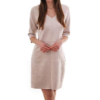 Rino & Pelle Ano Faux Suede Dress With Pocket Detail