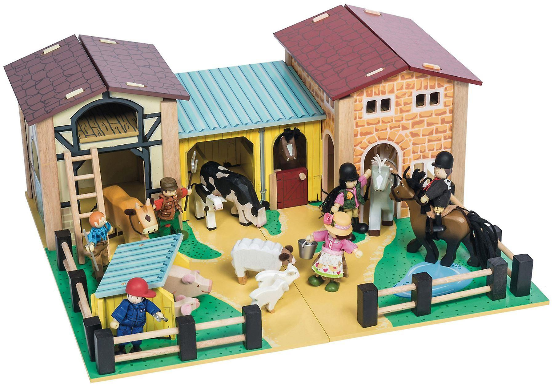 Le Toy Van Traditional Toys The Farmyard