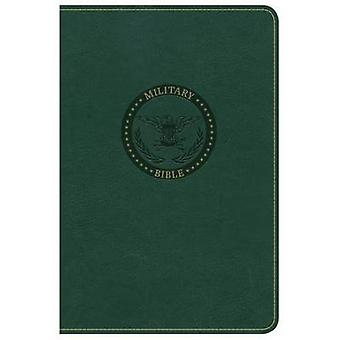 CSB Military Bible - Green Leathertouch by Holman Bible Staff - 97814