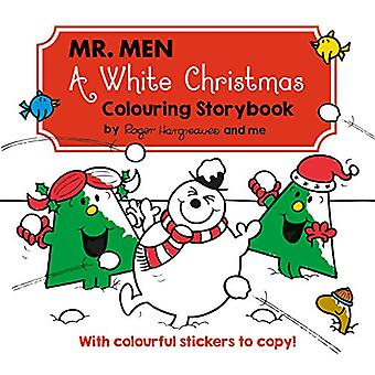 Mr Men A White Christmas Colouring Storybook by Egmont Publishing UK