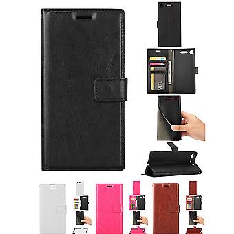 Sony Xperia Xz1-leather case/cover