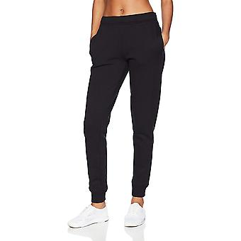 Starter Women's Jogger Sweatpants with Pockets, Amazon, Black, Size Small