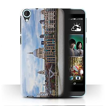 STUFF4 Case/Cover for HTC Desire 820s Dual/St Paul's Cathedral/London Sites