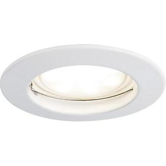 LED flush mount light 7 W Warm white Paulmann Coin 92822 White (matt)