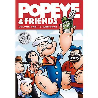 ポパイと友達の映画のポスター (11 x 17)