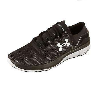 Under Armour speed form turbulence running shoe men's black 1289789-001