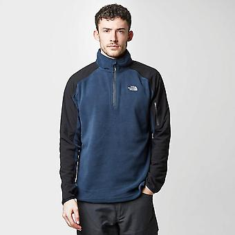 De North Face gletsjer Full Zip Fleece jas voor mannen