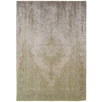 Distressed Pear Cream Medallion Flatweave Rug  170 x 240 - Louis de Poortere