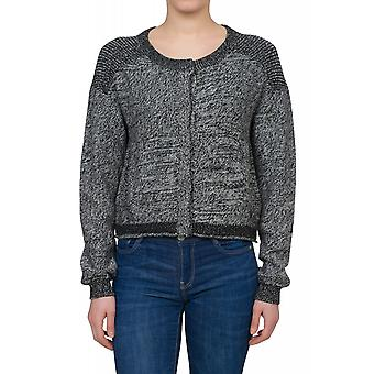 Lee knitted jacket ladies Cardigan black L52HRO01