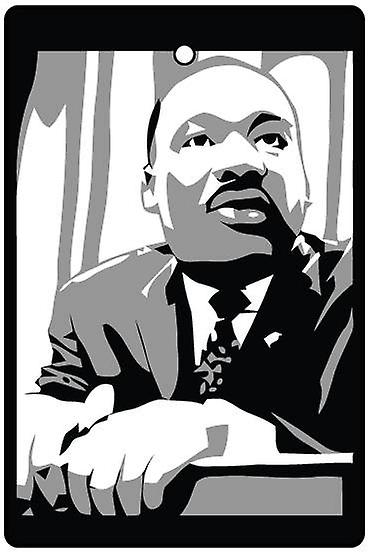 Martin Luther King Car Air Freshener