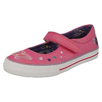 Girls Startrite Mary Jane Canvas Shoes Flutterby