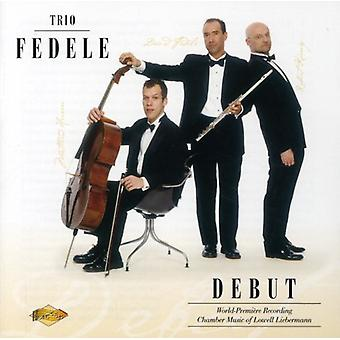 L. Liebermann - Trio Fedele: Debut [CD] USA import