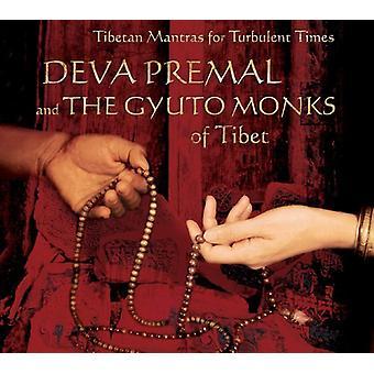 Deva Premal & Gyuto Monks - tibetanske mantraer for turbulente tider [CD] USA importerer