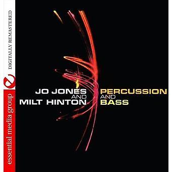Jo Jones & Milt Hinton - Percussion & Bass [CD] USA import