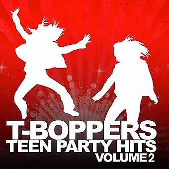 T-Boppers-T-Boppers: Vol. 2-Teen Hits Party [CD] USA import