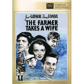 Farmer Takes a Wife [DVD] USA import