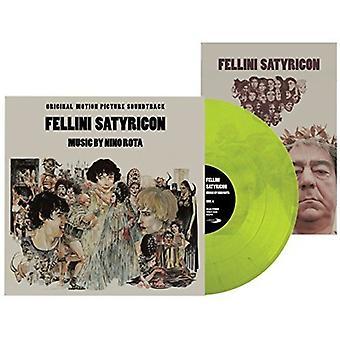 Nino Rota - Rota Nino-Fellini Satyriconoriginal S [Vinyl] USA importerer