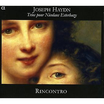 J. Haydn - Haydn: Trioer hæld Nicolaus Esterhazy [CD] USA import
