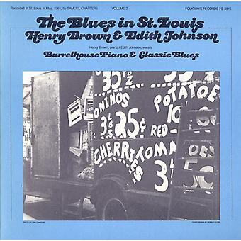 Brown/Johnson - Brown/Johnson: Vol. 2-Blues in st. Louis: Henry Brown & Edith Joh [CD] USA import