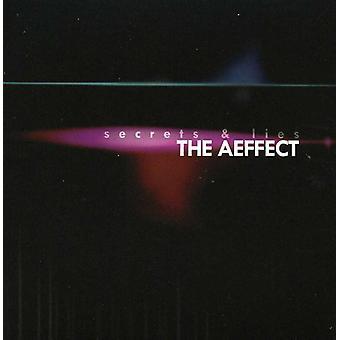 Aeffect - hemmeligheder & løgne [CD] USA import