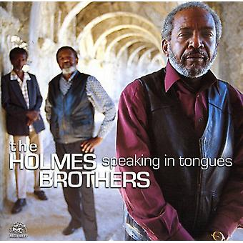 Holmes Brothers - hablar en lenguas [CD] USA importar